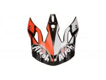 náhradní kšilt pro přilby AVIATOR 2.3 Great, AIROH - Itálie (oranžová)