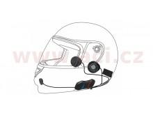 Bluetooth handsfree headset 10R (dosah 0,9 km) včetně dálkového ovládání na řídítka, SENA