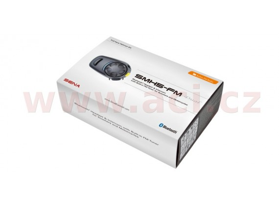 Bluetooth handsfree headset SMH5-FM (dosah 0,7 km), SENA (sada 2 jednotek)
