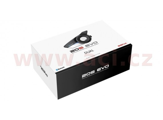 Bluetooth handsfree headset 20S EVO (dosah 2 km), SENA (sada 2 jednotek)