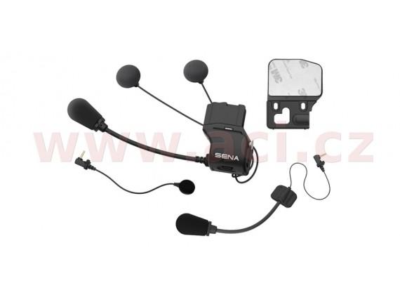 držák na přilbu s příslušenstvím pro headset 20S / 20S EVO / 30K (tenká sluchátka), SENA