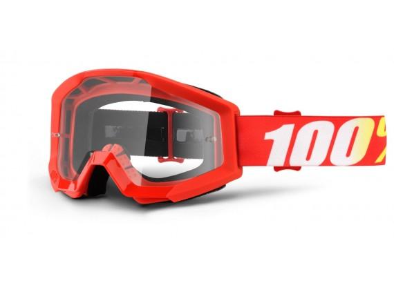 brýle Strata Furnace, 100% (čiré plexi s čepy pro slídy)