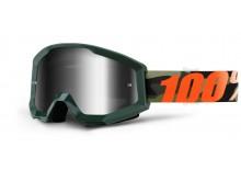 brýle Strata Huntitistan, 100% (stříbrné chrom plexi s čepy pro slídy)