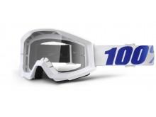 brýle Strata Equinox, 100% (čiré plexi s čepy pro slídy)