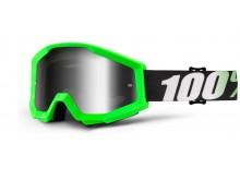 brýle Strata Arkon, 100% (stříbrné chrom plexi s čepy pro slídy)