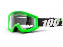 brýle Strata Arkon, 100% (čiré plexi s čepy pro slídy)