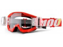 brýle Strata Furnace, 100% (čiré plexi s Roll Off)
