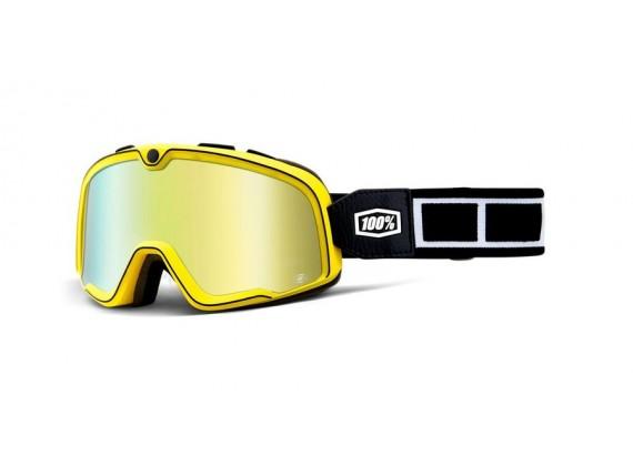 brýle Barstow Burnworth, 100% (zlaté zrcadlové plexi)