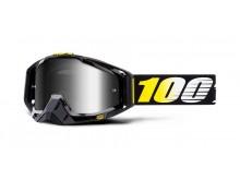brýle RACECRAFT Cosmos 99, 100% (stříbrné zrcadlové plexi)