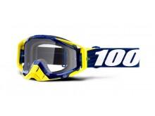brýle RACECRAFT Bibal/Navy, 100% (čiré plexi)