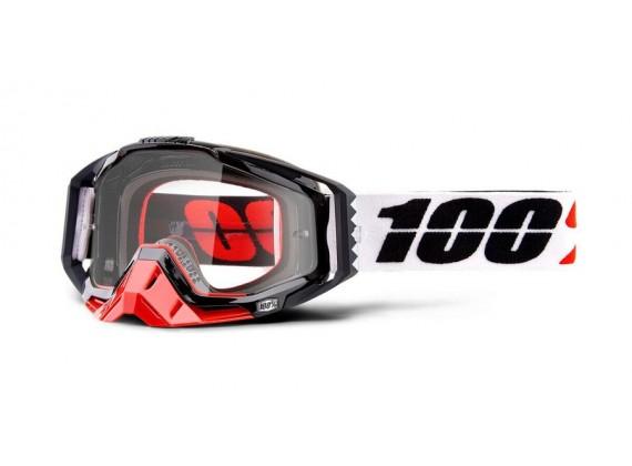 brýle RACECRAFT Marigot, 100% (čiré plexi)