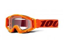 brýle RACECRAFT Menlo, 100% (čiré plexi)