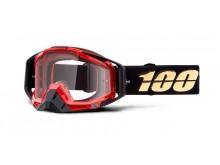 brýle RACECRAFT Hot Rod, 100% (čiré plexi)