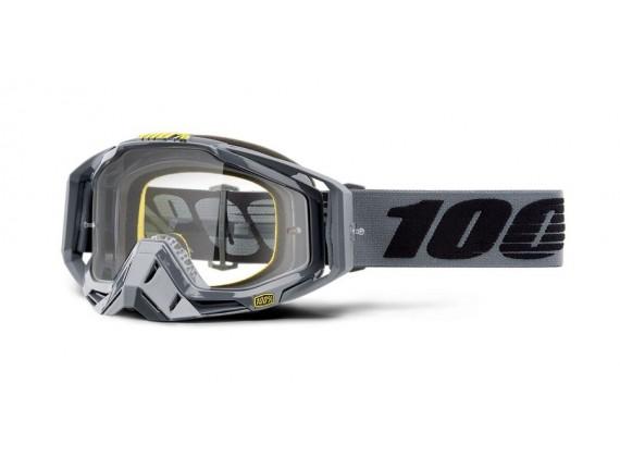 brýle RACECRAFT Nardo, 100% (čiré plexi)