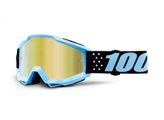 brýle ACCURI Taichi, 100% (zlaté zrcadlové plexi)