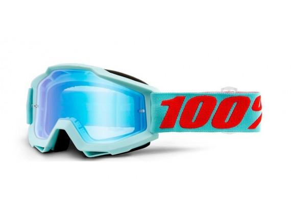 brýle ACCURI Maldives, 100%- USA (modré zrcadlové plexi)