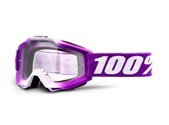 brýle ACCURI Framboise, 100% (čiré plexi)