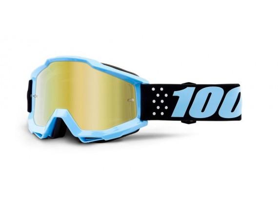 brýle ACCURI Taichi, 100% dětské (zlaté zrcadlové plexi)