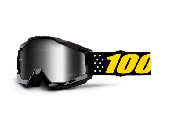 brýle ACCURI Pistol, 100% dětské (stříbrné zrcadlové plexi)
