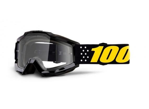 brýle ACCURI Pistol, 100% dětské (čiré plexi)