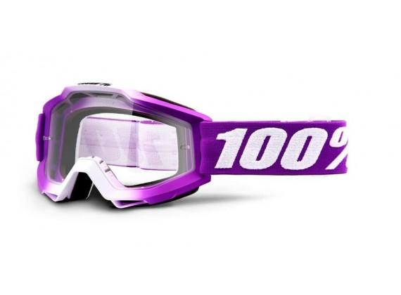 brýle ACCURI Framboise, 100% dětské (čiré plexi)