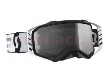 brýle PROSPECT SAND DUST, SCOTT (černé/bílé, light sensitive plexi s čepy pro slídy)