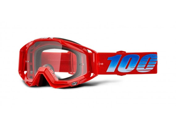 brýle RACECRAFT KURIAKIN, 100% (čiré zrcadlové plexi)