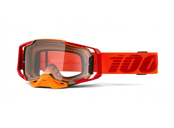 brýle ARMEGA Litkit, 100% (čiré plexi s čepy pro slídy)