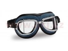 Vintage brýle 513, CLIMAX (modré/chromový rámeček/čirá skla)
