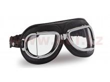 Vintage brýle 513, CLIMAX (černé/chromový rámeček/skla čirá)