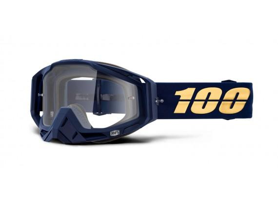 brýle RACECRAFT BAKKEN, 100% (čiré plexi)