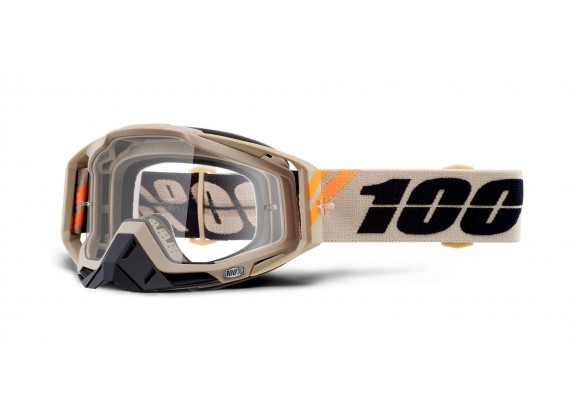 brýle RACECRAFT POLIET, 100% (čiré plexi)