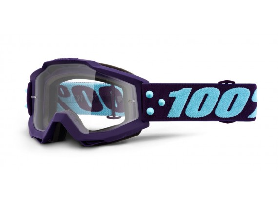 brýle ACCURI MANEUVER, 100% (čiré plexi)