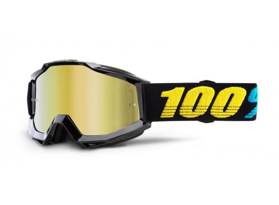 brýle ACCURI VIRGO, 100% (zlaté zrcadlové plexi)