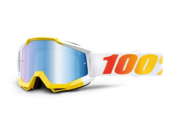 brýle ACCURI ASTRA, 100% (modré zrcadlové plexi)