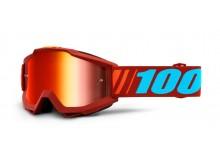brýle ACCURI DAUPHINE, 100% (červené zrcadlové plexi)