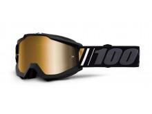 brýle ACCURI OFF, 100% (zlaté zrcadlové plexi)