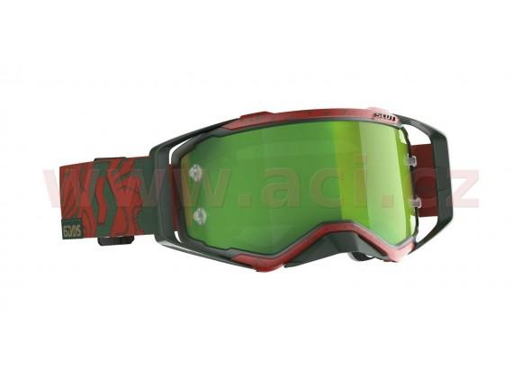 brýle PROSPECT LIMITED SIX DAYS 19 PORTUGAL, SCOTT (červené/zelené, zelené chrom plexi s č