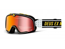 BARSTOW 100% - USA , brýle Deus - zrcadlové červené plexi