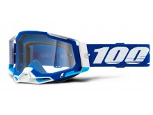 RACECRAFT 2 100% - USA , brýle modré - čiré plexi