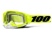RACECRAFT 2 100% - USA , brýle žluté - čiré plexi