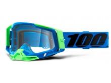 RACECRAFT 2 100% - USA , brýle Fremont - čiré plexi