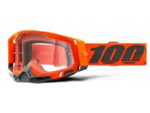 RACECRAFT 2 100% - USA , brýle Kerv - čiré plexi