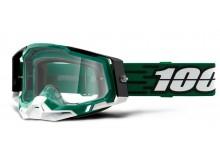 RACECRAFT 2 100% - USA , brýle Milori - čiré plexi