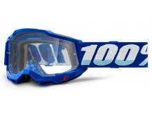 ACCURI 2 100% - USA , brýle modré - čiré plexi