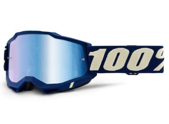 ACCURI 2 100% - USA , brýle Deepmarine - zrcadlové modré plexi