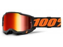 ACCURI 2 100% - USA , brýle Chicago - zrcadlové červené plexi
