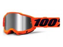 ACCURI 2 100% - USA , brýle Orange - zrcadlové stříbrné plexi