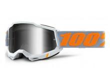 ACCURI 2 100% - USA , brýle Speedco - zrcadlové stříbrné plexi
