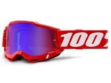 ACCURI 2 100% - USA , brýle červené - zrcadlové červené/modré plexi